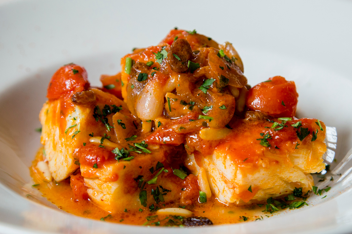 Stewed salt cod with potatoes: the Calabrian recipe