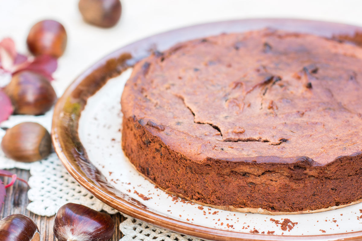 Cake with chestnut flour: the Calabrian recipe