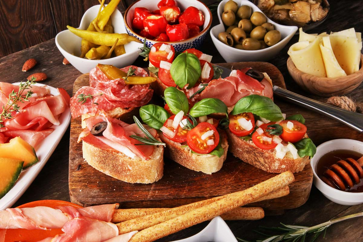 Delicious bruschetta: the Calabrian recipe