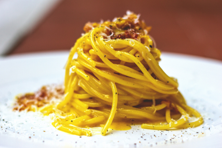 Spaghetti carbonara: the Calabrian recipe