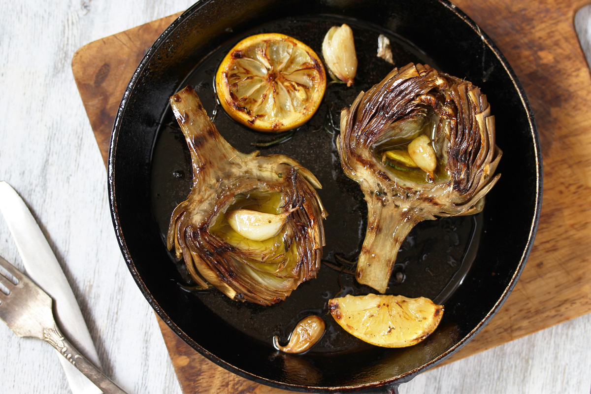Sauteed artichokes: the Calabrian recipe
