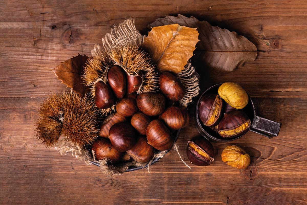 Three ways to cook chestnuts