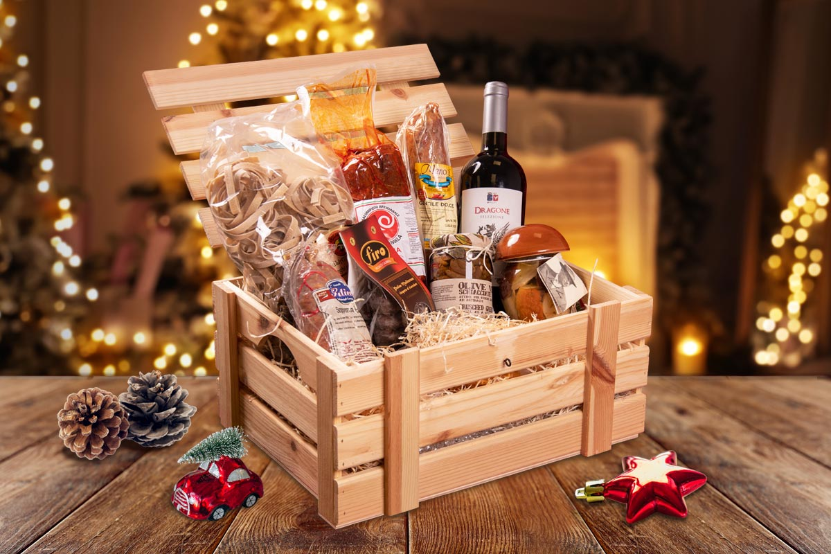 Christmas hampers: a tradition from the ancient Rome