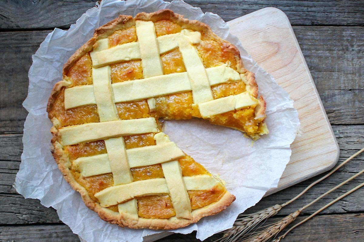 Bergamot jam tart: the Calabrian recipe