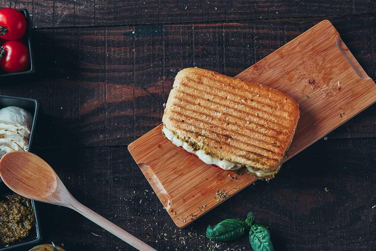 Three Calabrian sandwiches
