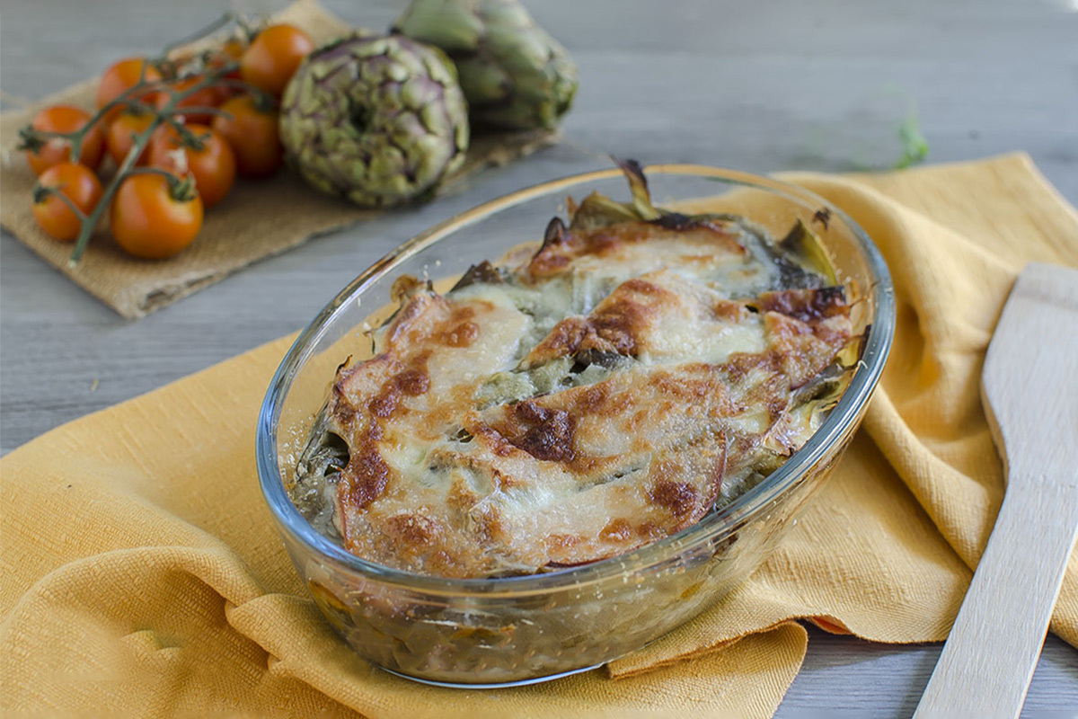 How to prepare the Calabrian artichoke pie