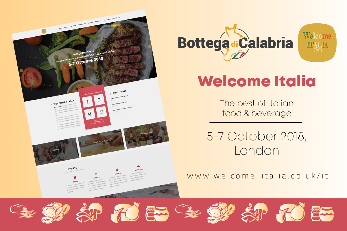 Bottega di Calabria in London for Welcome Italia 2018