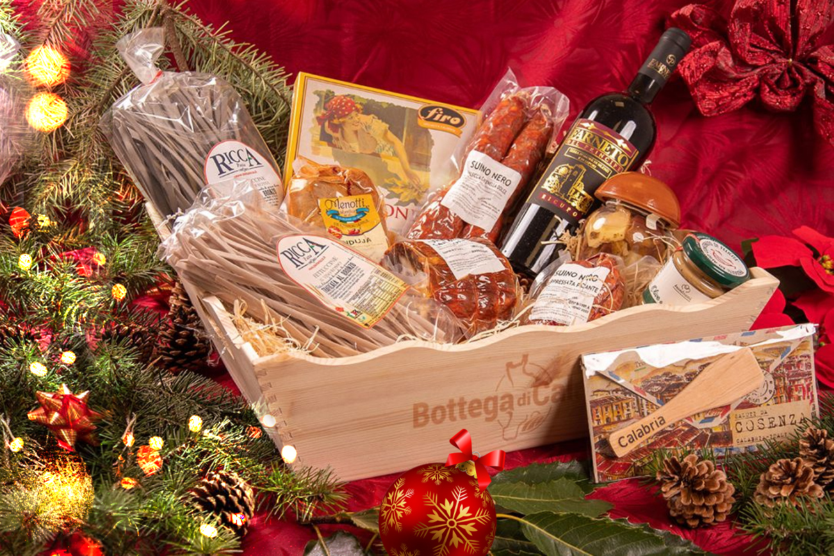 Regional Christmas baskets: many gift ideas from Calabria