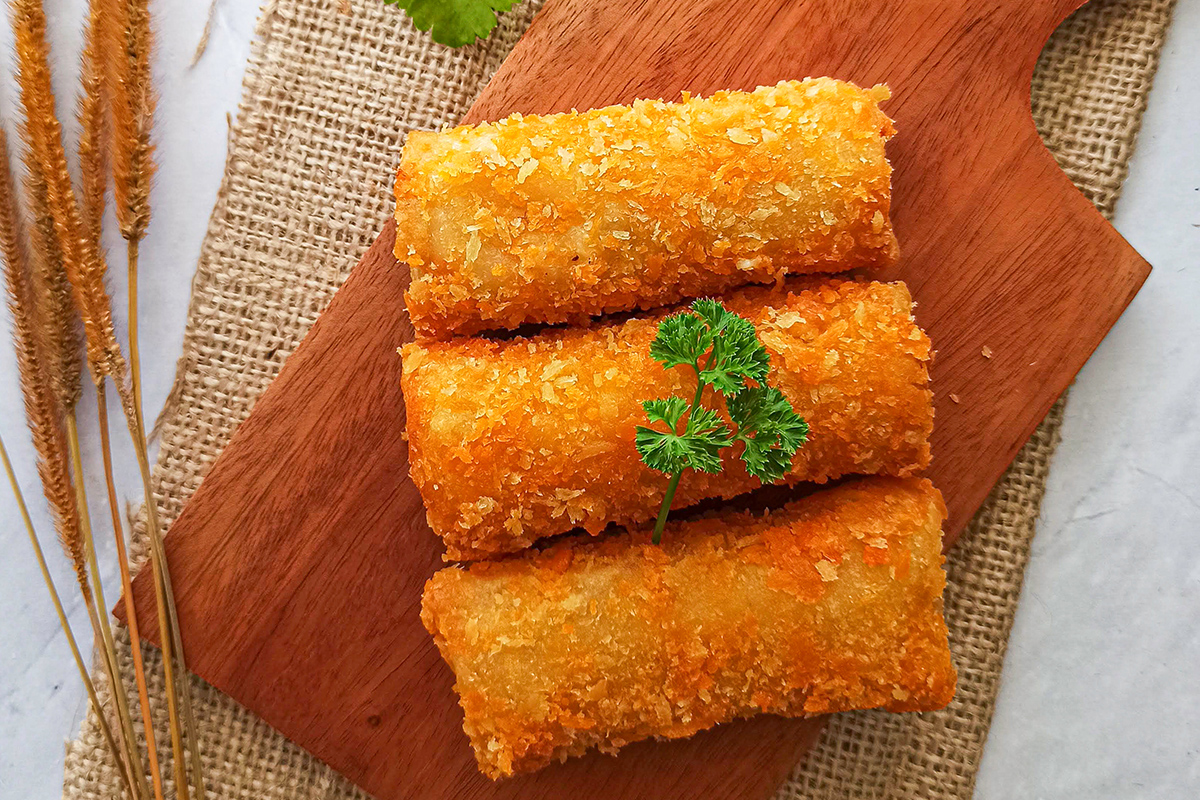 How to make the potato croquettes with nduja
