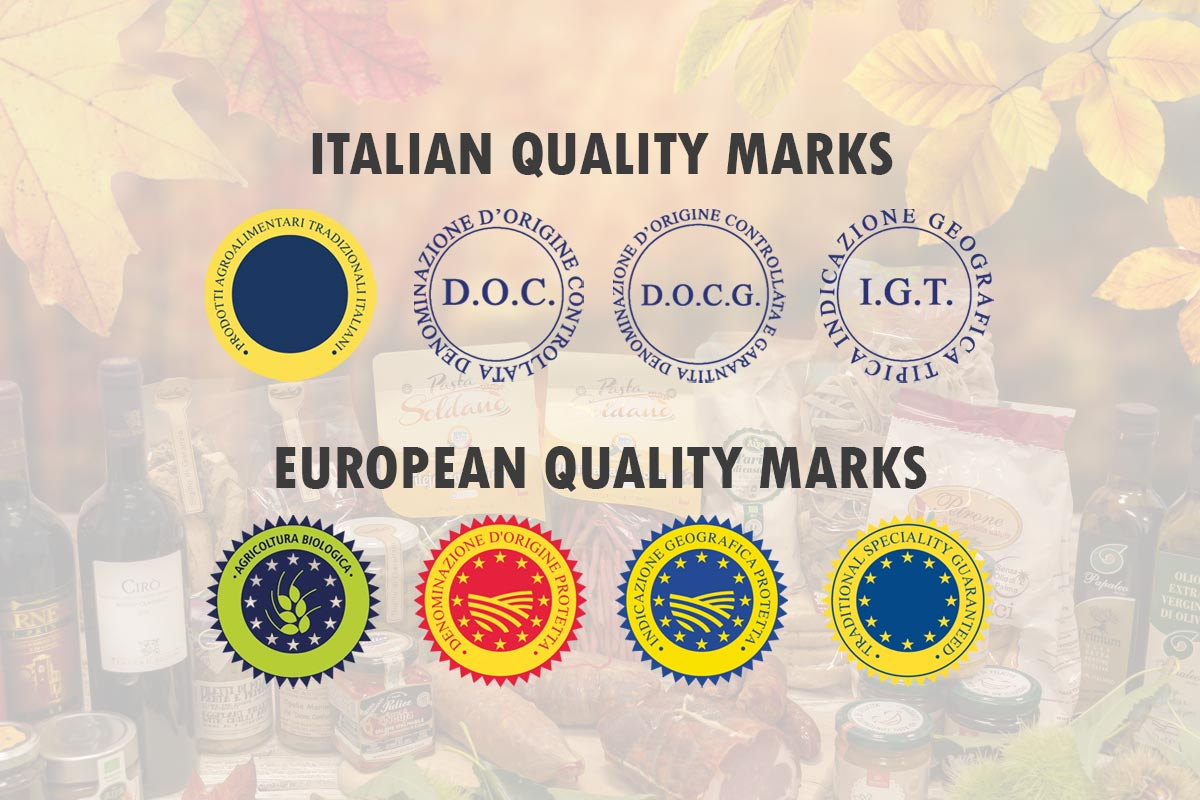 Typical products: which are the quality marks?