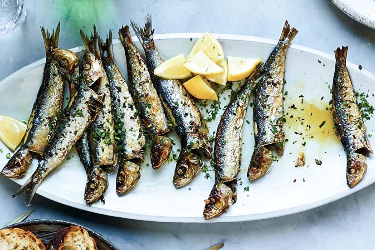 How to make sardines with parsley